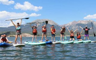 The HYPE Paddle Boarding with BOEC