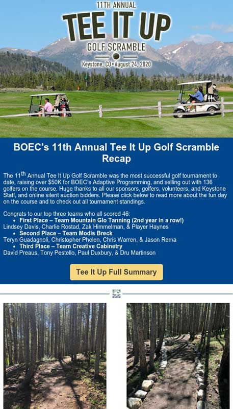 BOEC's September 2020 Inspirations Newsletter