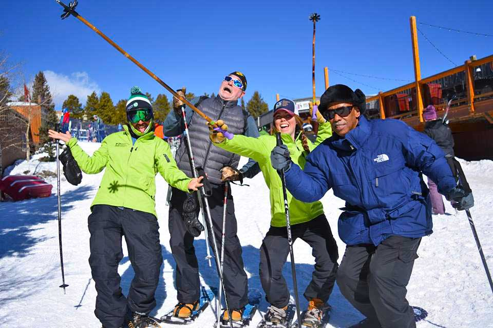 BOEC Staff and Skiers