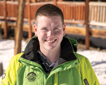 Tyler Eaton - Keystone Adaptive Center (KAC) Ski Intern