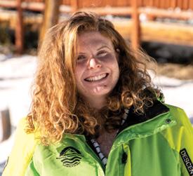Taylor Weckstein - Keystone Adaptive Center (KAC) Ski Intern
