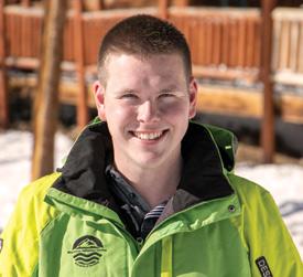 Tyler Eaton - Keystone Adaptive Center (KAC) Ski Intern