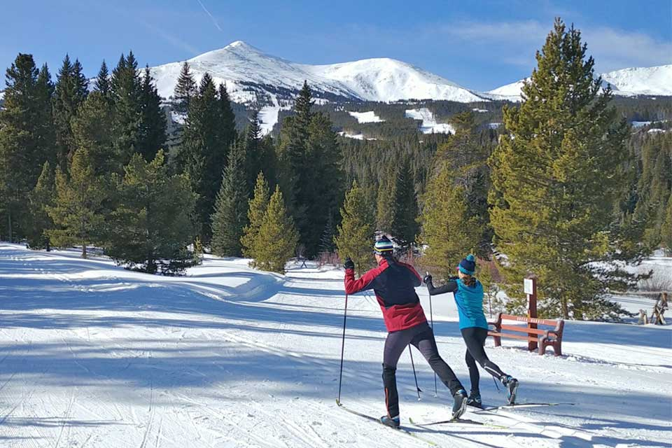 Cross Country Skiing with BOEC