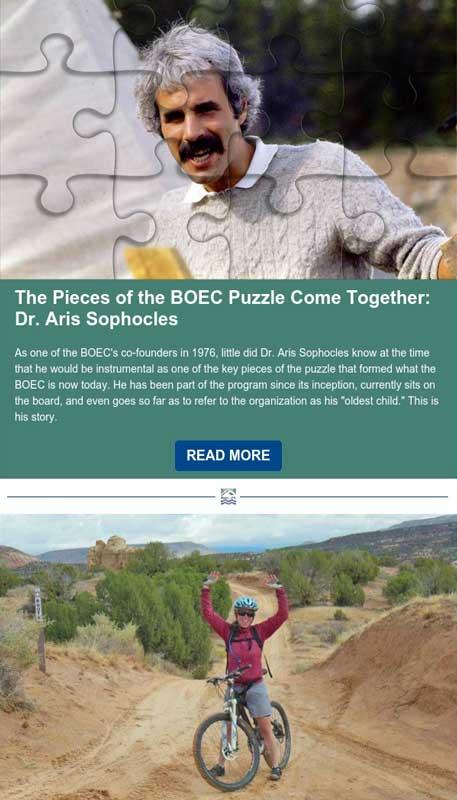 BOEC's January 2021 Inspirations Newsletter