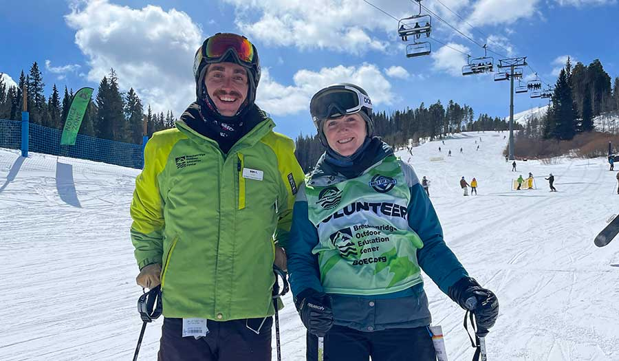 Ben and his sister, future BOEC Intern, Amelia