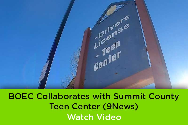 BOEC Collaborates with Summit County Teen Center