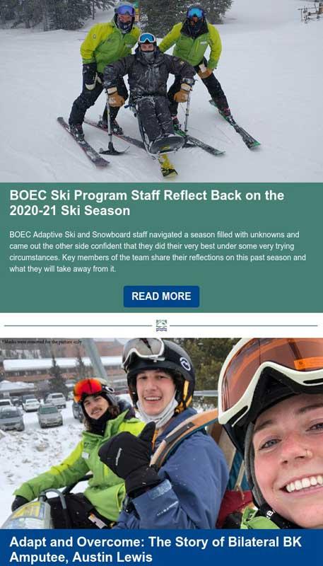 BOEC's April 2021 Inspirations Newsletter