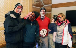 Faculty volunteer their time to play crash victims