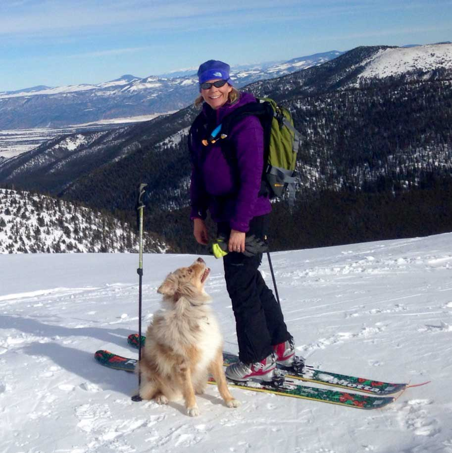 Melissa and Yeti take in the sights