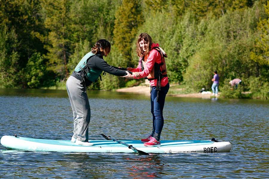 BOEC Paddle boarding