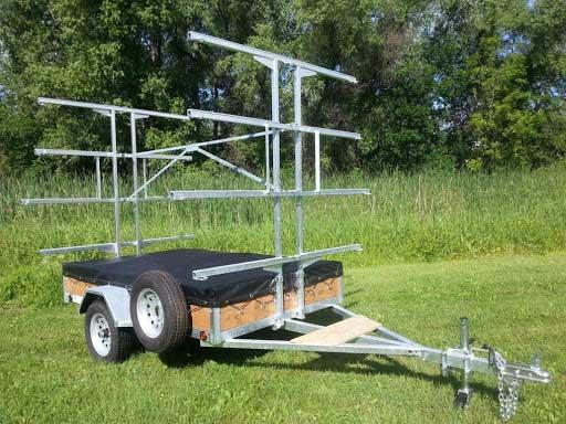 DCF's custom built trailer