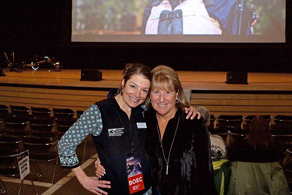 Hallie and Karen Skruch
