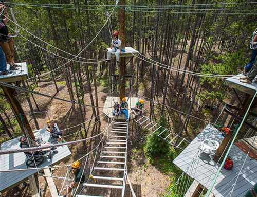BOEC Ropes Course Like No Other